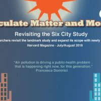 Fine-particulyte Matter and Mortality Rates: Revisiting the Six City Study story banner