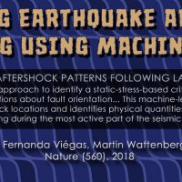 Image to accompany improving earthquake aftershock forecasting using machine learning' story